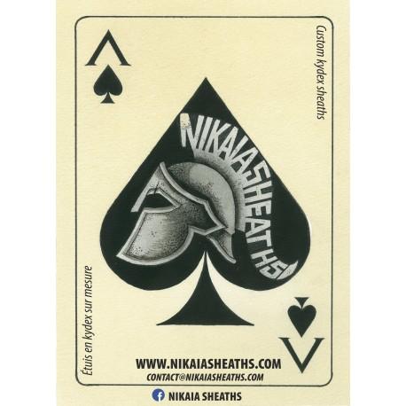 """Poster """"Death Card Nikaïa"""""""